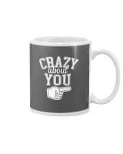 Crazy About You Right Mug thumbnail