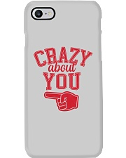 Crazy About You Left Phone Case thumbnail