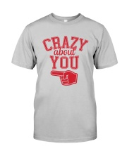 Crazy About You Left Classic T-Shirt thumbnail