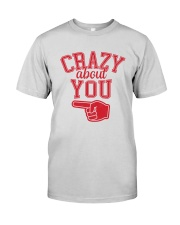 Crazy About You Left Premium Fit Mens Tee thumbnail