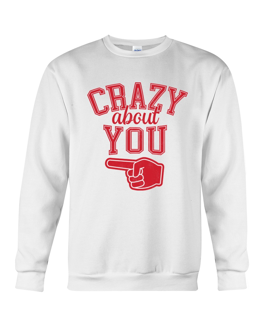 Crazy About You Left Crewneck Sweatshirt