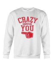 Crazy About You Left Crewneck Sweatshirt front