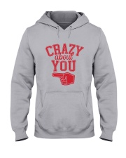 Crazy About You Left Hooded Sweatshirt thumbnail