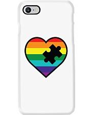 Rainbow Heart Piece Phone Case thumbnail