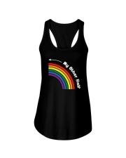 My Other Half Rainbow Left Ladies Flowy Tank front