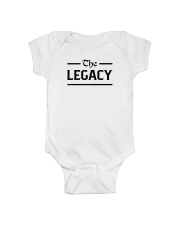 The Legacy Onesie front