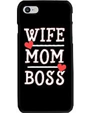 Wife Mom Boss Phone Case thumbnail