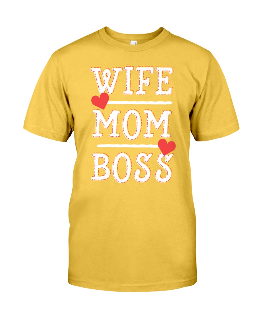 Wife Mom Boss Classic T-Shirt