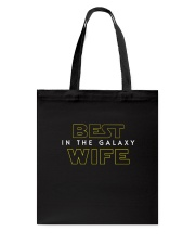 Best Wife In The Galaxy Tote Bag thumbnail