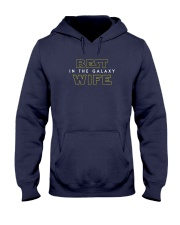Best Wife In The Galaxy Hooded Sweatshirt thumbnail