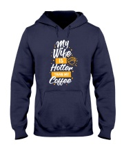 Hotter Than my Coffee Hooded Sweatshirt thumbnail