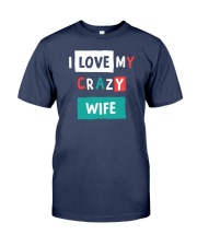 I Love My Crazy Wife Premium Fit Mens Tee thumbnail