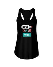 I Love My Crazy Wife Ladies Flowy Tank thumbnail
