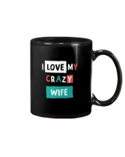 I Love My Crazy Wife Mug thumbnail