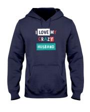 I Love my Crazy Husband Hooded Sweatshirt thumbnail