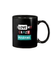 I Love my Crazy Husband Mug thumbnail