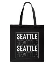 Seattle 4x Tote Bag thumbnail