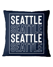 Seattle 4x Square Pillowcase thumbnail
