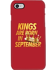 Kings Are Born in September Phone Case thumbnail