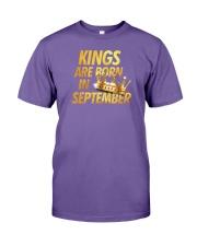 Kings Are Born in September Premium Fit Mens Tee thumbnail