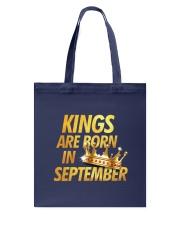 Kings Are Born in September Tote Bag thumbnail