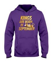 Kings Are Born in September Hooded Sweatshirt thumbnail