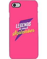 Legends Are Born in September Phone Case thumbnail