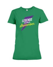 Legends Are Born in September Premium Fit Ladies Tee thumbnail