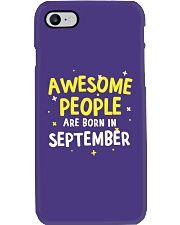 Awesome People Are Born In September Phone Case thumbnail