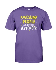 Awesome People Are Born In September Premium Fit Mens Tee thumbnail