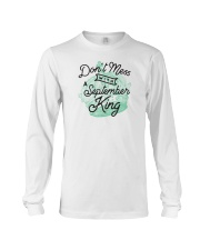 Don't Mess With a September King Long Sleeve Tee tile