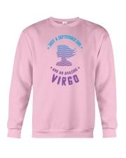 September Girl an Amazing Virgo Crewneck Sweatshirt thumbnail