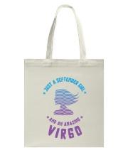 September Girl an Amazing Virgo Tote Bag thumbnail