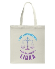 September Girl an Amazing Libra Tote Bag thumbnail