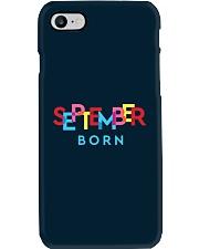 September Born Phone Case tile