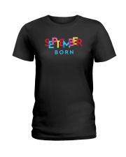 September Born Ladies T-Shirt tile