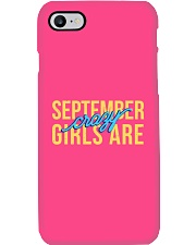 September Girls are Crazy Phone Case thumbnail