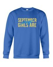 September Girls are Crazy Crewneck Sweatshirt thumbnail