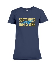 September Girls are Crazy Premium Fit Ladies Tee thumbnail