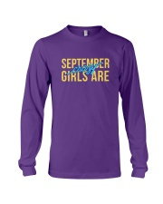 September Girls are Crazy Long Sleeve Tee thumbnail
