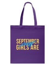 September Girls are Crazy Tote Bag thumbnail