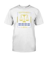 September Libra Classic T-Shirt tile