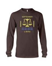 September Libra Long Sleeve Tee thumbnail