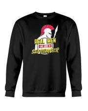 Real Men are Born in September Crewneck Sweatshirt thumbnail
