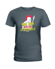 Real Men are Born in September Ladies T-Shirt thumbnail