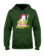Real Men are Born in September Hooded Sweatshirt thumbnail