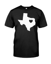 Texas Love Classic T-Shirt front