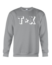 Texas Abbreviation Crewneck Sweatshirt thumbnail
