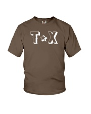 Texas Abbreviation Youth T-Shirt thumbnail