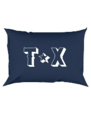Texas Abbreviation Rectangular Pillowcase thumbnail